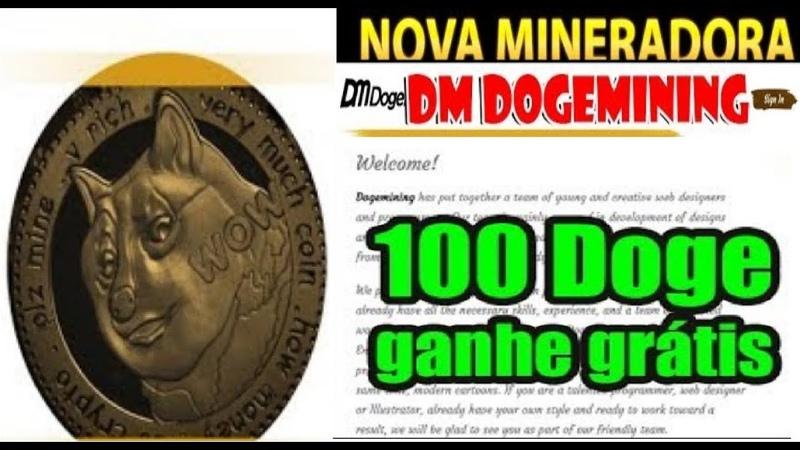 DOGEMINING LIMITED ► Pagando Saque 35000 Doges 100 free no Cadastro Prova de Pagamento