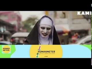 The nun prank 2019 JALALS SCARY NUN PRANK and top ghost prank