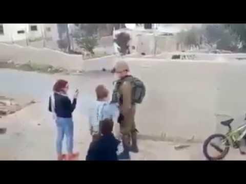 16 yo Palestinian girl Ahed Tamimi slaps Israeli soldier