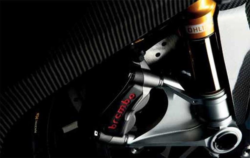 Заряженный мотоцикл Norton Superlight SS