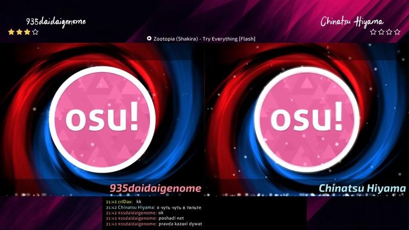 COCI4*2 935daidaigenome vs Chinatsu Hiyama @ Group D