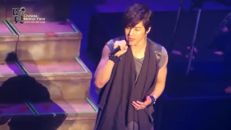 2013.01.11 Kim Hyun Joong 김현중UnlimitedJapanTour@Nagoya -- Love like thisLet me be the one
