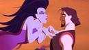 Синдбад получает от Эриды испытание на силу духа. Синдбад: Легенда семи морей (2003) год.