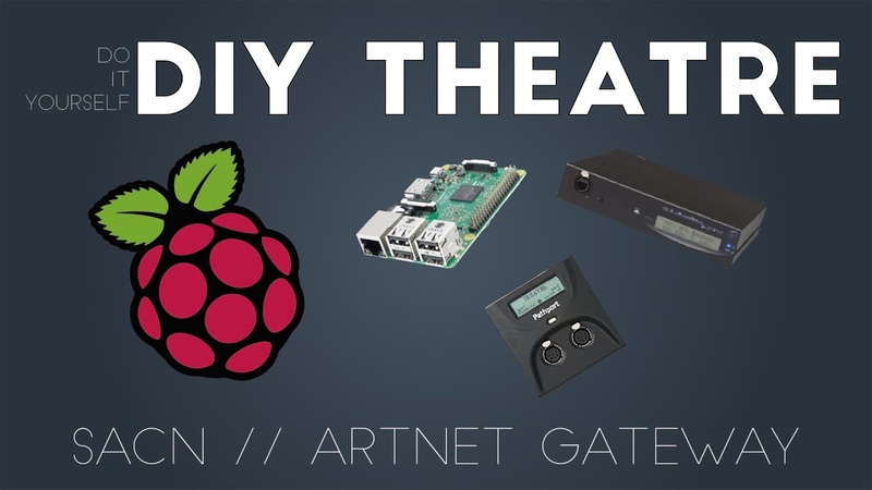 Turn Your Pi into a DMX Gateway D I Y Theatre