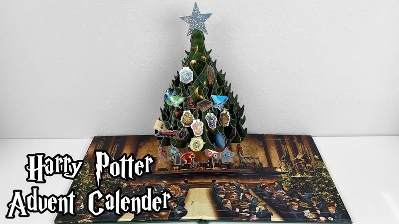 Harry Potter A Hogwarts Christmas Pop Up Advent Calendar
