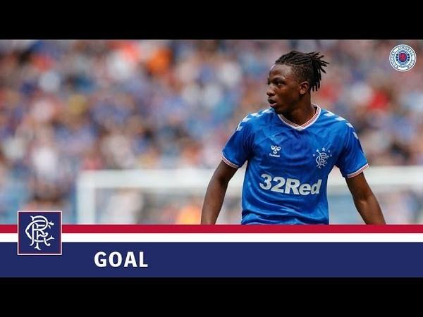 GOAL | Joe Aribo | Rangers 1-0 Progres Niederkorn