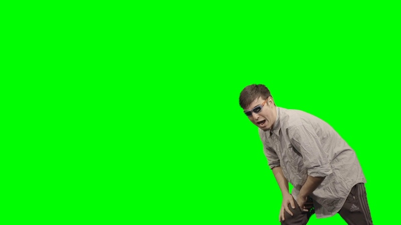 *leans* bitchya didn't see that coming huh Filthy Frank Green Screen