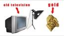 Chế Tạo Ti Vi Cũ Thành Chiếc Máy Khai Thác Vàng Cực Kỳ Hay Bạn Nên Xem