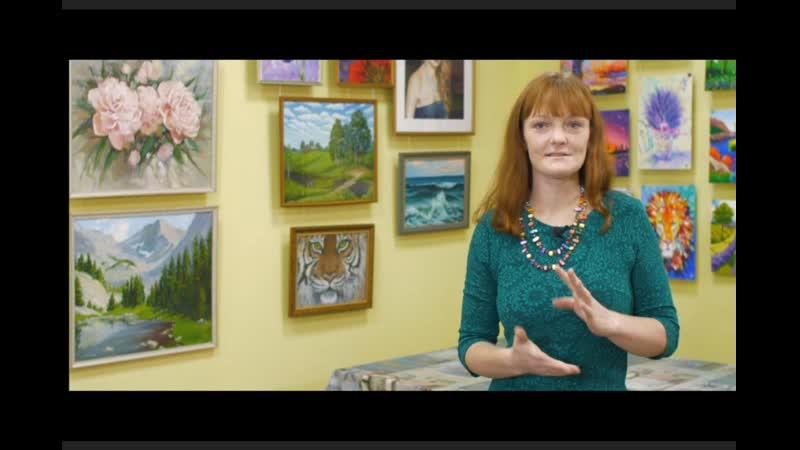 Истории успеха: Анастасия Киселева, студия рисования TIme Art, Курган, CompactTV
