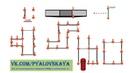 Схема движения на экзаменационной площадке в пяловском ГИБДД г Москва