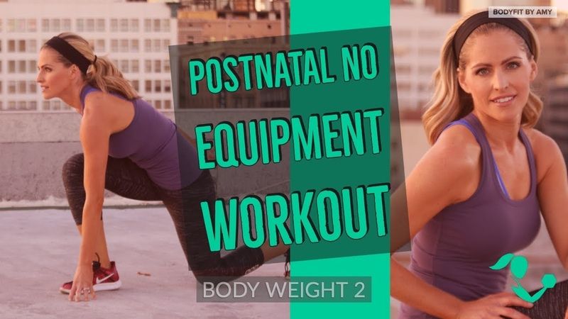 36 Minute Postnatal No Equipment Workout 2Bodyweight Workout for After Pregnancy