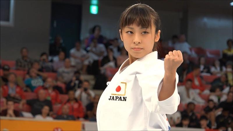 Karate Kata Goju shiho in JKA World Championship 2014 五十四歩小・大