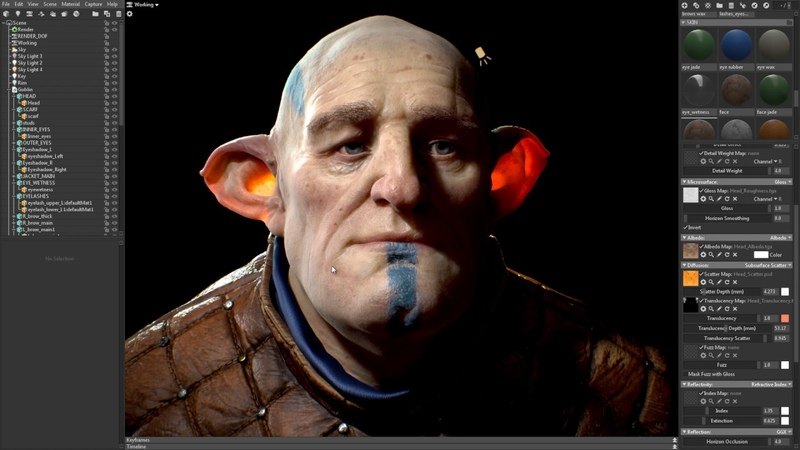 Getting to Know Toolbag 3 Ep 6 Subsurface Scattering
