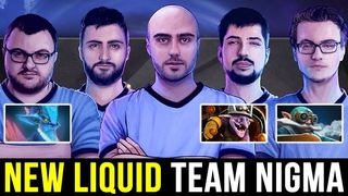 New Team NIGMA Hard Practice - MIRACLE W33 MC Unstoppable Party Rank Dota 2