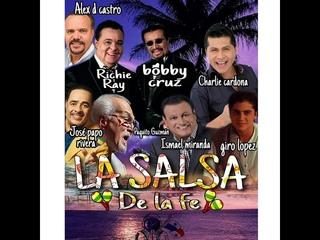 SALSA CRISTIANA ÉXITOS 2020 BOBBY CRUZ, CHARLIE CARDONA, ALEX D CASTRO, ISMAEL MIRANDA, OTROS MAS