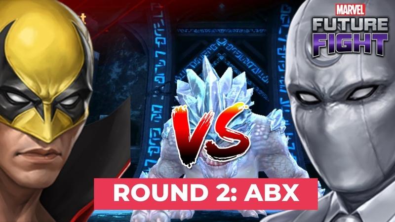 Iron Fist vs Moon Knight Part 2 Combat Hero ABX day comparison Marvel Future Fight