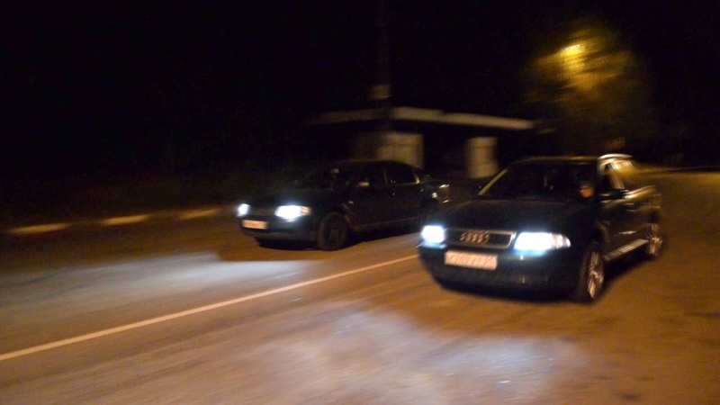 A4 b5 avant 1 8T FWD 150hp 180hp VS Passat b5 2 8 V6 4motion 193hp