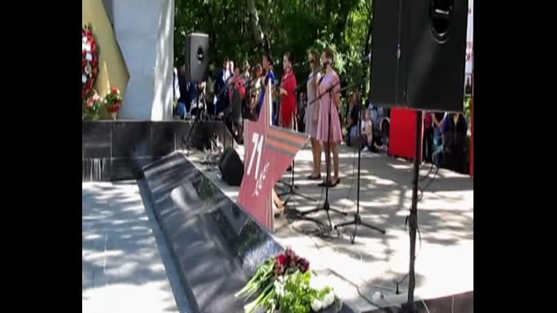 День ПОБЕДЫ! п.Советский (Ички) Крым 2016