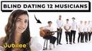 12 vs 1 Speed Dating 12 Musicians Without Seeing Them