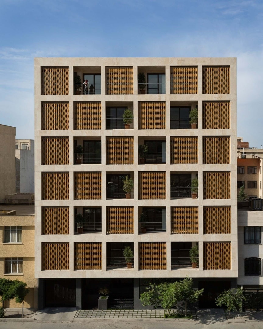 Saba Apartment in Tehran, Iran by TDC office