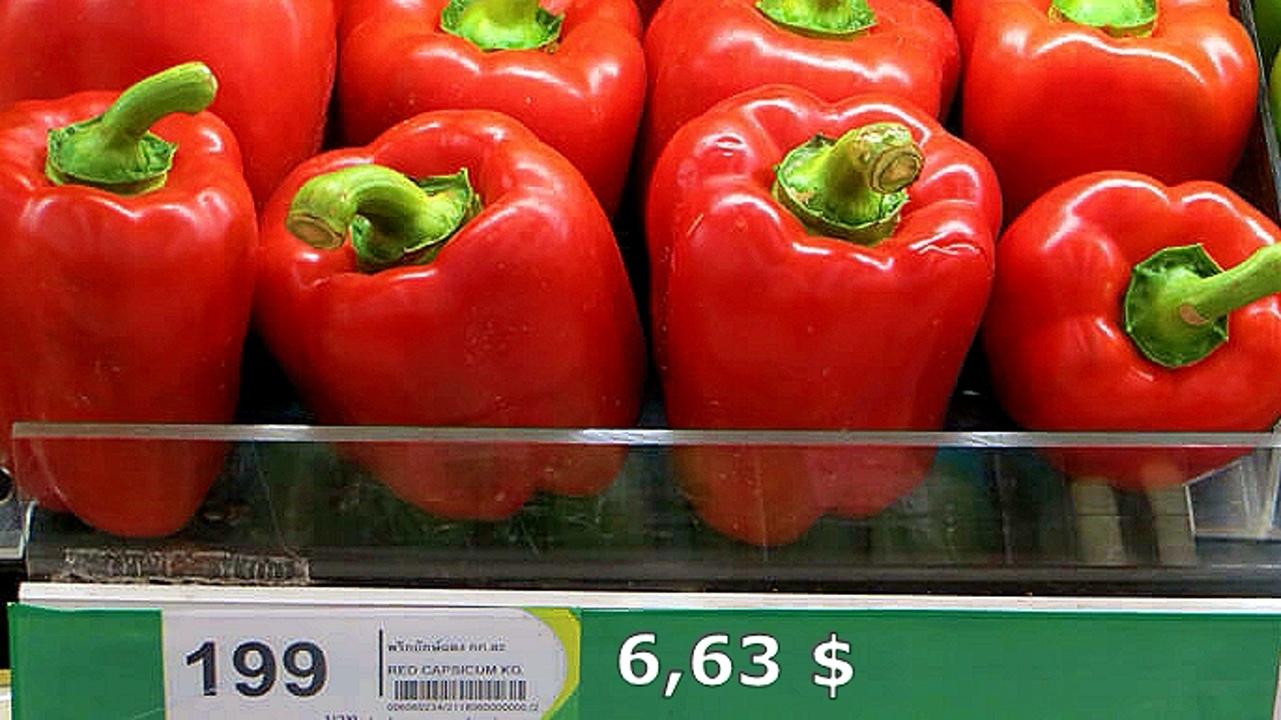 Цены на продукты и еду в Таиланде.  5mgXqBciDA8