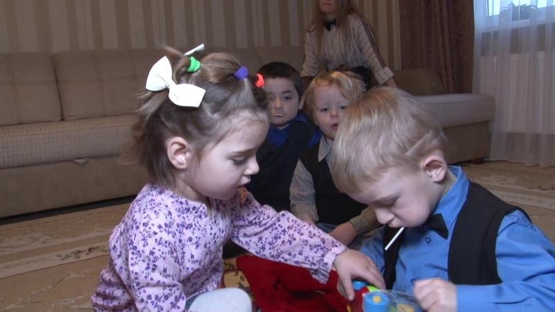 Чудеса на Рождество в детском доме семейного типа