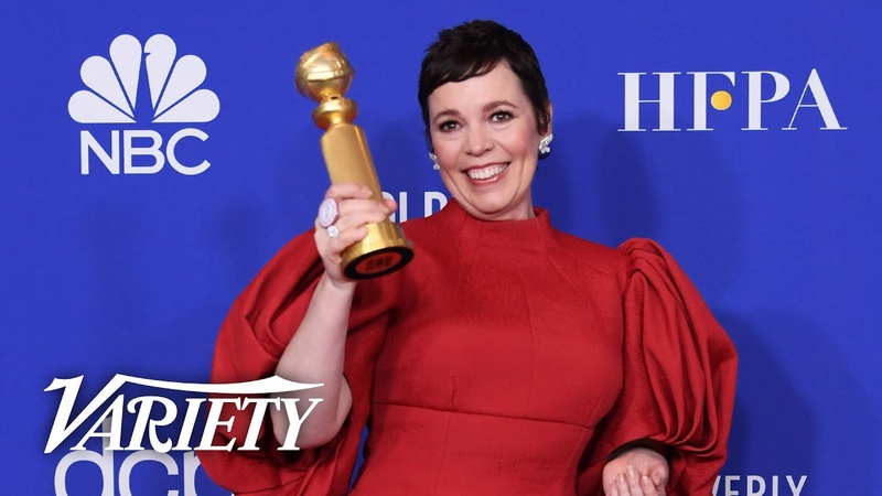 Olivia Colman Full Backstage Speech at the Golden Globes 2020