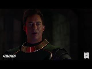 Dctv crisis on infinite earths crossover sneak peek black lightning arrives (hd)