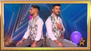 Pareja de novios gay canta a la libertad y al amor libre Audiciones 2 Got Talent España 2019