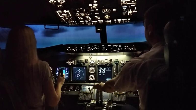 полет за штурвалом боинга 747 часть 2