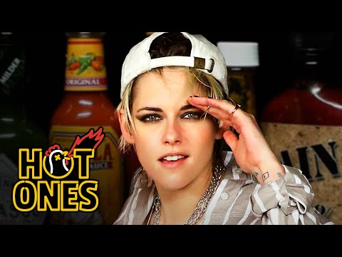 Kristen Stewart Brings the Angels to Eat Spicy Wings   Hot Ones