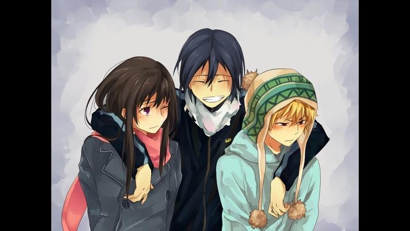 обзор на аниме бездомный бог Noragami бог Ято и Хиери Что посмотреть где гг недооценивают KL1NT дик