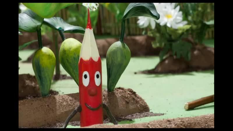 Sārtulis / Красный карандашик / Little Ruddy (2013, Латвия) Мультфильм, Director Dace Rīdūze,based on book by Margarita Stāraste