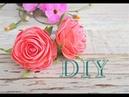 DIY Простые цветочки на резиночке Украшение для волос