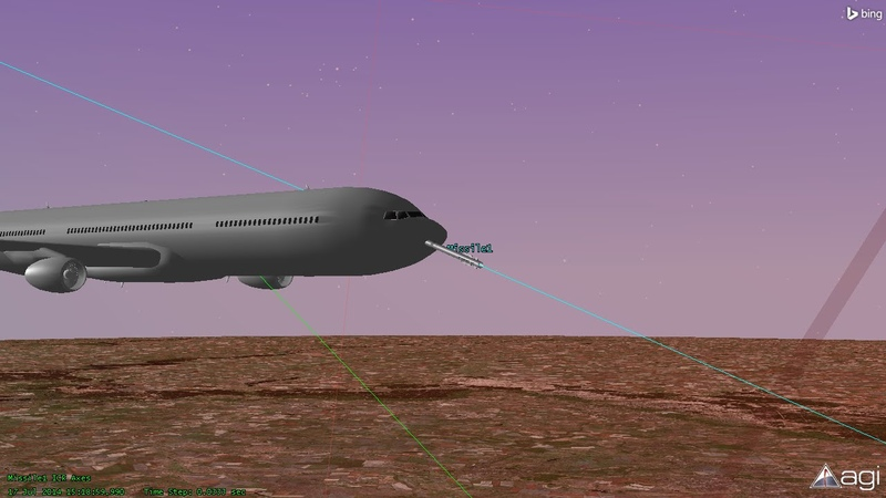 BUK 17 07 2014 Malaysia Airlines Flight MH17 Shot Down Animation
