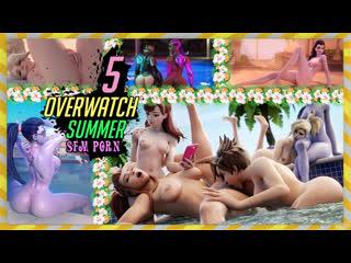 Overwatch summer 5 sfm porn