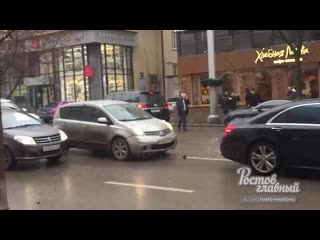 Массовая авария на Садовой Соколова  Ростов-на-Дону Главный