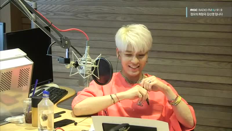 Kang Sung Hoon - Special DJ Noon Song of Hope Radio 180810
