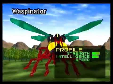 Beast Wars Transmetals Predacons Intro N64 Hardware