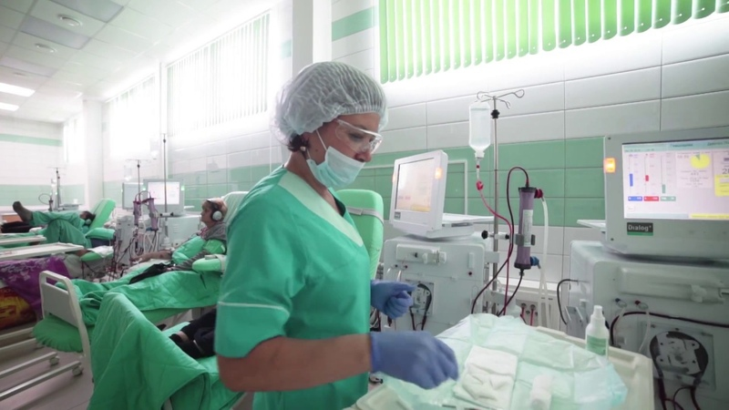Новый диализный центр Нефромед в Тюмени