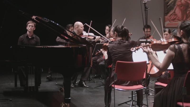 W.A. Mozart. Piano concerto 12, K.414 - V. Gryaznov, Taiwan Strings