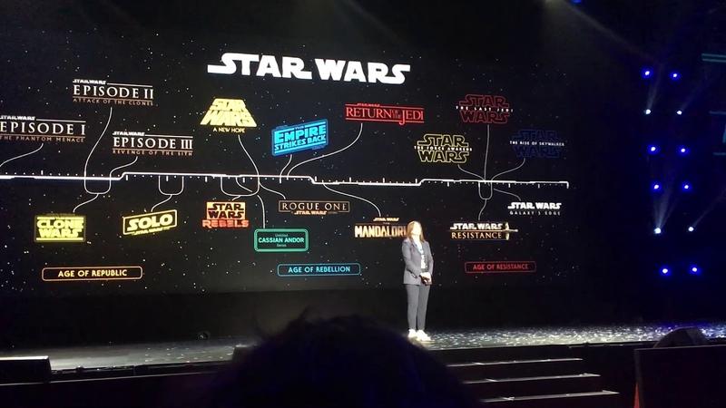 D23 Expo 2019 Ewan McGregor returns as Obi Wan Announcement - Disney Show
