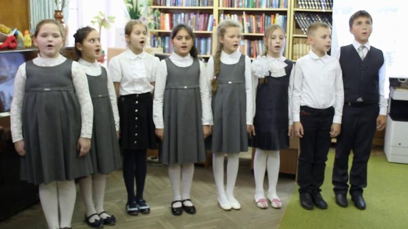 Песня «Ангелы России» в исполнении учащихся Православной НОШ г. Петушки