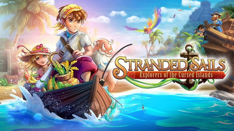 Stranded Sails - Explorers of the Cursed Islands Gameplay Trailer