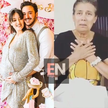 """EnMagazin on Instagram Pelin Akil'in ikizleri Alin ve Lina 3 aylık oldu 📍Akil Lina'nın anneannesine Anne"""" dediği anları paylaştı Akil ve anne"""