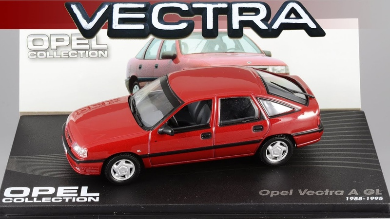 Opel Vectra A 1992 Opel Collection Масштабные модели автомобилей 1 43