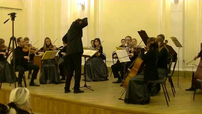 К.Ф.Э. Бах симфония до мажор K.F.E. Bach symphony in C