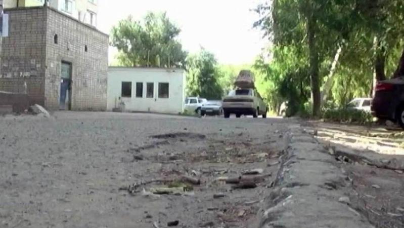 ВАстрахани засамовольный ремонт дороги жителям грозит штраф Новости Первый канал