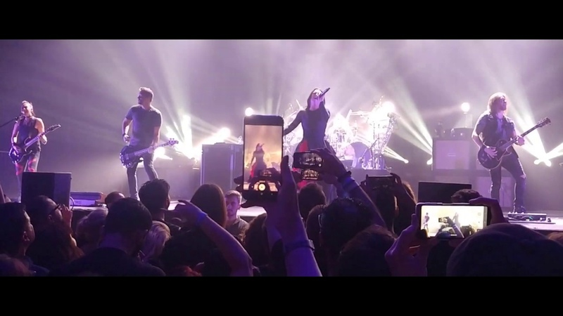 Evanescence New Way To Bleed VLOG from Istanbul concert