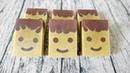 瀏海笑臉皂DIY smiling face with bang handmade soap 手工皂